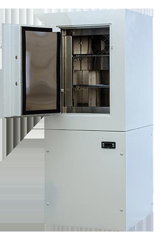 Сейфы-холодильники со встроенным металлическим ящиком