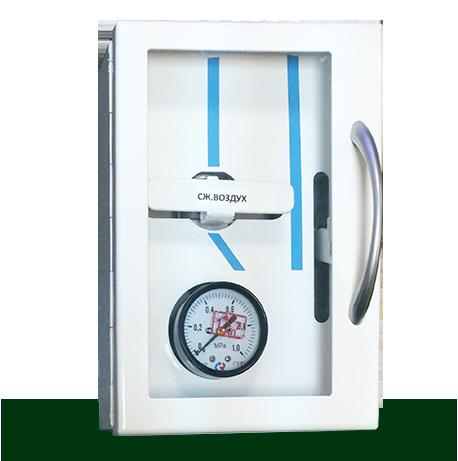 Поэтажная газовая контрольно-отключающая консоль стандарт МК-НО-800-ПГ